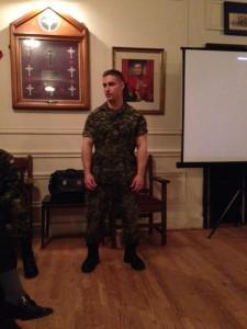 Sergeant Bendik Afghanstan Presentation