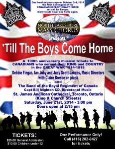 21 'Till the Boys Come Home poster Toronto jpeg